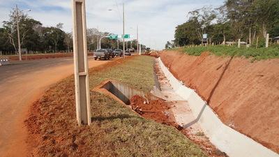 Completan pavimentación de tramo entre Vaquería y Ruta 10