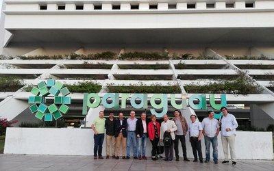 Arribaron los periodistas españoles que conocerán sitios turísticos de Paraguay