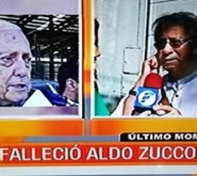Falleció Aldo Zuccolillo