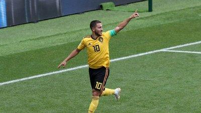 Eden Hazard fue la gran figura de Bélgica