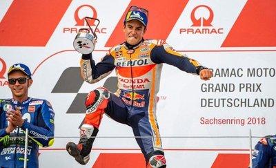 Márquez ganó en Alemania