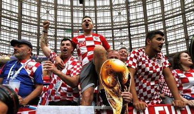 Paso a paso: La final Francia-Croacia