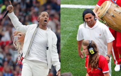 HOY / Will Smith y Ronaldinho iluminan la Ceremonia de Clausura
