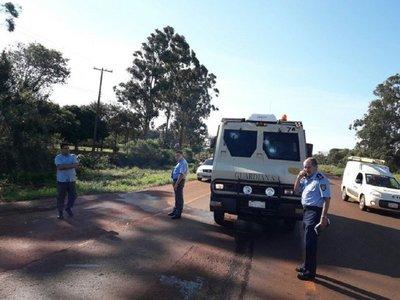 Asaltan transportador de caudales en Alto Paraná