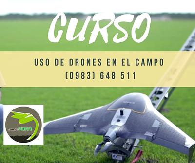 Curso sobre manejo de drones en el campo