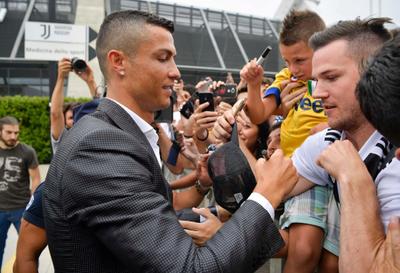 Cristiano Ronaldo se hizo los exámenes médicos