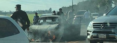 Guardias de carro fuerte quedaron detenidos