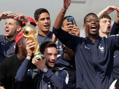Francia retornó tras ganar la Copa
