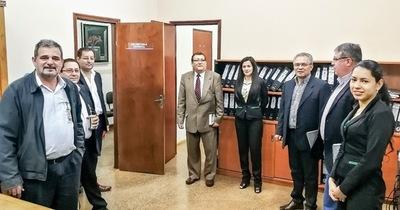 Equipo de transición recorrió oficinas de la gobernación