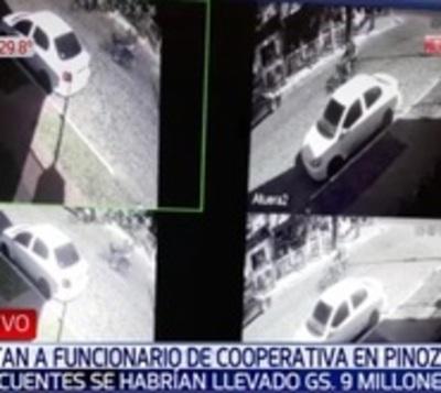 Asaltan a funcionarios de cooperativa en Asunción