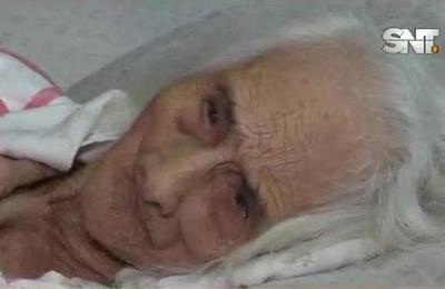 Villalbín, Ñeembucú: el drama de una abuela de 95 años