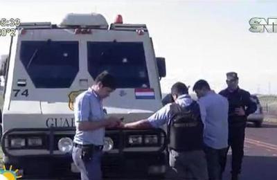 Millonario robo a transporte de caudales en el Alto Paraná