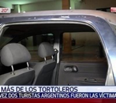 Turistas argentinos fueron víctimas de tortoleros