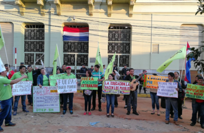Gremio docente rechaza acuerdo entre Hacienda y Banco Mundial