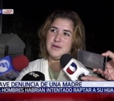 Denuncian intento de rapto en Villa Hayes