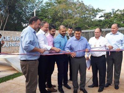 Inauguran el Parque Urbano, nuevo pulmón verde de Asunción