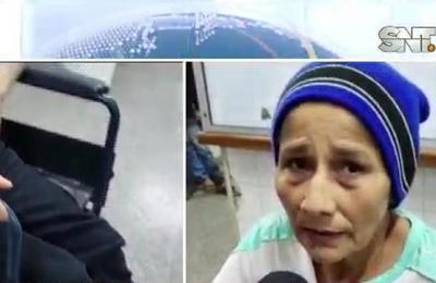 Mujer asegura que el 'Pombero' la arrojó a un pozo