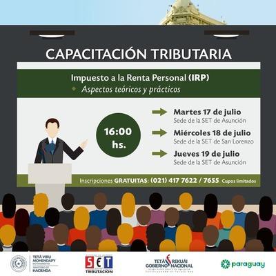 SET realizará charlas gratuitas sobre el IRP