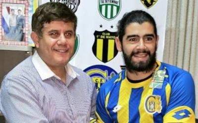 HOY / Rodrigo Burgos se une al plantel del Deportivo Capiatá