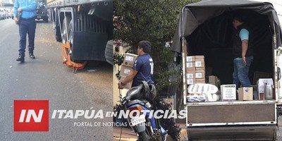 RECUERDAN HORARIO PERMITIDO DE CARGA Y DESCARGA DE MERCADERÍAS DE CAMIONES PESADOS.