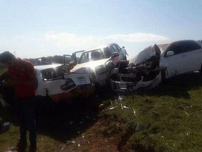 Triple choque causa dos víctimas fatales en Guairá