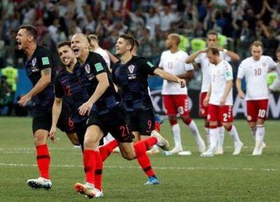 Dinamarca dejó todo pero Croacia lo acostó en los penales