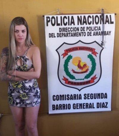 Brasileña ebria intentó coimear a policías