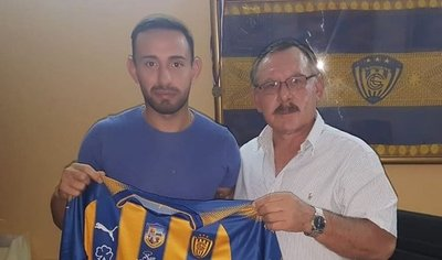 Luqueño presenta a Marcelo Cañete como nuevo refuerzo