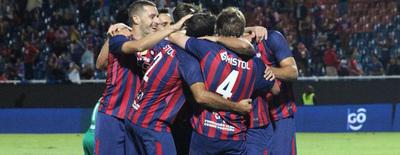 Cerro Porteño gana con gol de Churín