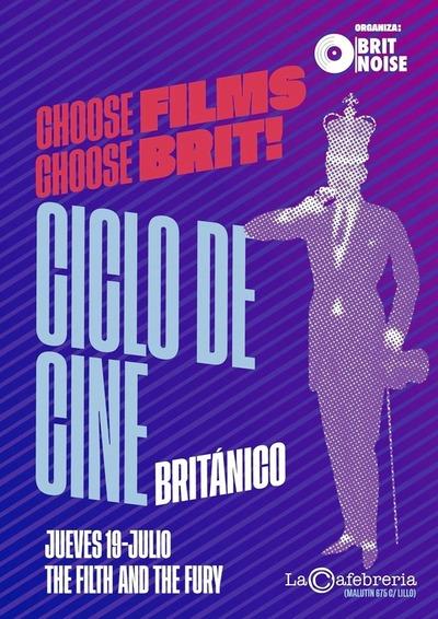 "Prosigue el ciclo de cine ""Brit Noise"""