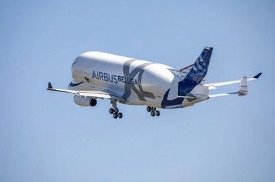 Primer vuelo del Beluga XL, el nuevo gigante de Airbus