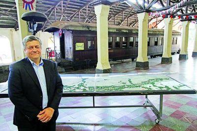 Empresa china propone reconstrucción de tren Encarnación