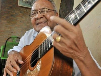 Falleció hoy, a los 86 años, Kamba'i Echeverría, un grande de la música paraguaya