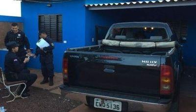 Detienen a cuatro y recuperan vehículos robados