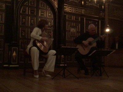 Berta Rojas y John Williams rinden homenaje a Mangoré en Londres