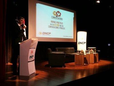 Director de la DNCP presentó informe de su gestión