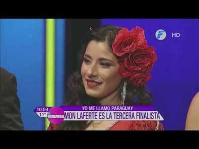 Mon Laferte es la tercera finalista de Yo Me Llamo Py