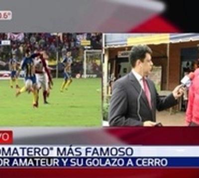 De vender tomates en el Abasto a marcarle un golazo a Cerro Porteño