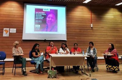 Lideresas del pueblo Nivachei participaron de intercambio en Brasil
