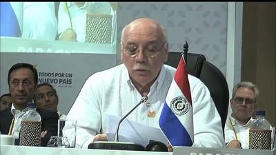 Loizaga destacó que el país se reinsertó en la comunidad internacional