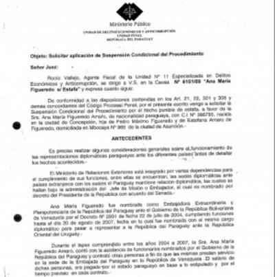 Caso Ibáñez: Critican absoluta incoherencia de Rocío Vallejos