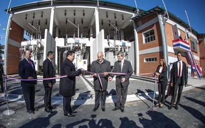 Inauguran subestación en Asunción