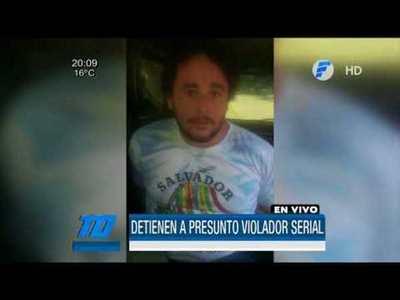 Presunto violador serial fue detenido en San Lorenzo