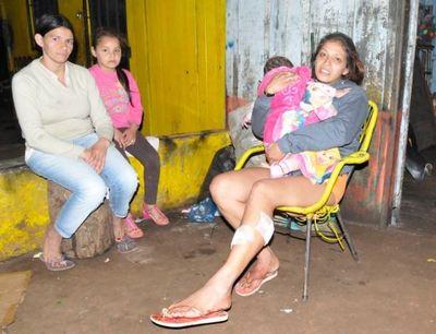 Presunto microtraficante balea a una mujer por deuda de drogas