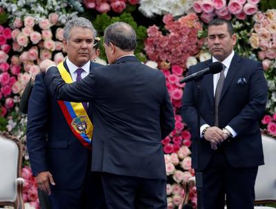 Iván Duque asume como nuevo presidente de Colombia