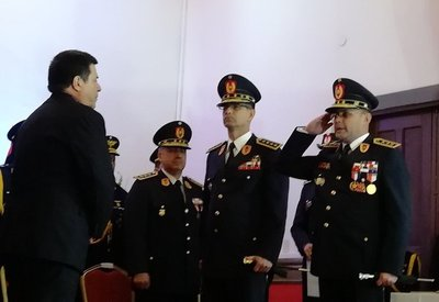 Asumen nuevas autoridades de la Policía Nacional