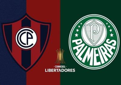 Cerro Porteño recibe a Palmeiras en la Nueva Olla por la Conmebol Libertadores