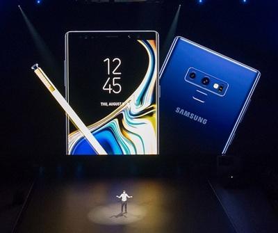 Samsung presenta el Note9