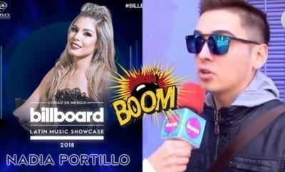 """Will Fretes Filoso Sobre La Participación De Nadia Portillo En Los Billboard: """"Hay Que Vender Humo"""""""