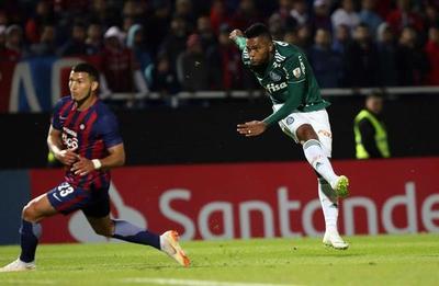 Libertadores: Palmeiras derrota a domicilio a Cerro Porteño